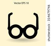 glasses vector illustration | Shutterstock .eps vector #314679746