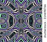 rhombus colorful geometric folk ... | Shutterstock . vector #314698766