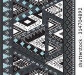 Ethnic Geometrical Pattern ...