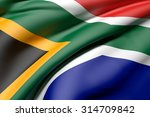 3d rendering of a south africa... | Shutterstock . vector #314709842