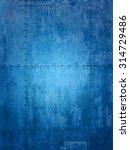 blue ship plate texture ideal... | Shutterstock . vector #314729486