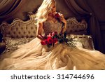 princess in luxury | Shutterstock . vector #314744696