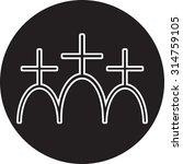 church icon | Shutterstock .eps vector #314759105