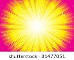 supernova blast vector | Shutterstock .eps vector #31477051