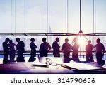 business people meeting... | Shutterstock . vector #314790656