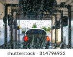a car running through automatic ...   Shutterstock . vector #314796932