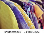 some different used clothes... | Shutterstock . vector #314810222