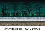 seamless horizontal background... | Shutterstock .eps vector #314810996