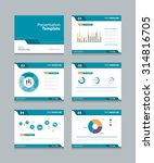 vector template presentation... | Shutterstock .eps vector #314816705