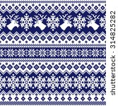 nordic tradition pattern   Shutterstock .eps vector #314825282
