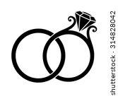 Wedding Rings With Diamond...