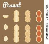 Peanuts. Vector Illustration O...