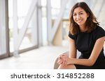 portrait of young mixed race... | Shutterstock . vector #314852288