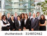 smiling group portrait of... | Shutterstock . vector #314852462