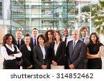 smiling group portrait of... | Shutterstock . vector #314852462