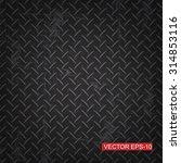 black diamond plate texture...   Shutterstock .eps vector #314853116