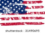 American Flag Background Vector ...