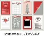 set of creative 8 journaling... | Shutterstock .eps vector #314909816