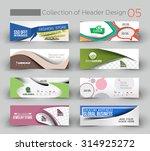 mega collection modern... | Shutterstock .eps vector #314925272