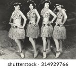 hawaiian dancers | Shutterstock . vector #314929766