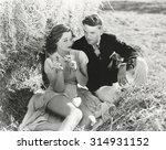 he loves me | Shutterstock . vector #314931152