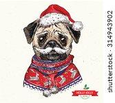 vintage illustration of hipster ...   Shutterstock .eps vector #314943902