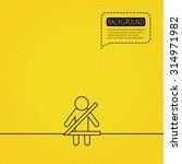 fasten seat belt icon. human...   Shutterstock .eps vector #314971982