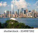 The Manhattan Skyline As Seen...