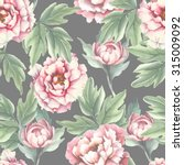 watercolor seamless pattern... | Shutterstock .eps vector #315009092