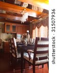 the luxury dining room interior | Shutterstock . vector #31507936