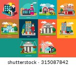 building   construction | Shutterstock .eps vector #315087842