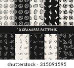 doodle school icons   Shutterstock .eps vector #315091595