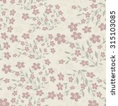 seamless floral pattern | Shutterstock .eps vector #315103085