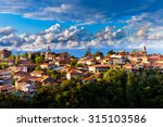 sighnaghi  signagi  is a... | Shutterstock . vector #315103586