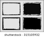 grunge frame.grunge background... | Shutterstock .eps vector #315105932