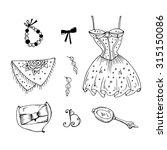 Vector Lady Fashion Accessorie...