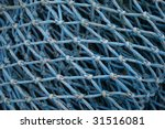 Fishing Net Blue