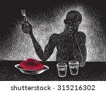 love hate | Shutterstock .eps vector #315216302