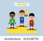 characters males sportsmen.... | Shutterstock .eps vector #315248792