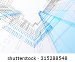 abstract architecture... | Shutterstock .eps vector #315288548