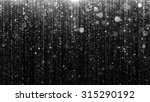 particle wall particles flowing ... | Shutterstock . vector #315290192