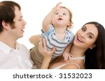 bright picture of happy family... | Shutterstock . vector #31532023