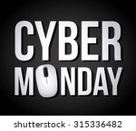 cyber monday deals design ... | Shutterstock .eps vector #315336482