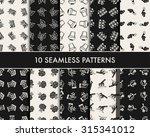 doodle gardening icon   Shutterstock .eps vector #315341012