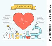 medicine background with the... | Shutterstock . vector #315348722