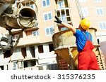 Builder Laborer Man Working...