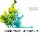 colorful abstract composition... | Shutterstock . vector #315386315