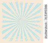 vintage  rising sun or sun ray... | Shutterstock .eps vector #315393386