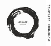 grunge background   black and... | Shutterstock .eps vector #315415412