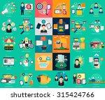 marketing   management | Shutterstock .eps vector #315424766